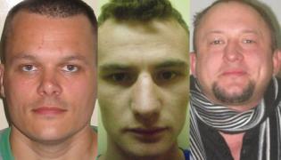 Poszukiwani więźniowie: Robert Bottcher, Marcin Piechocki i Barosz Śmiśniewicz