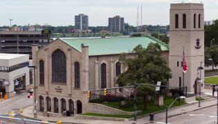Jeden z kościołów w Detroit