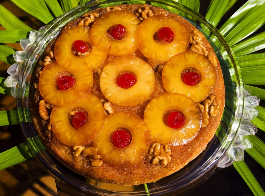 Ananas reguluje pracę układu pokarmowego
