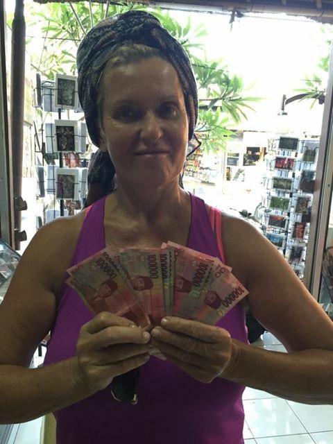 Ewa Kasprzyk na Bali