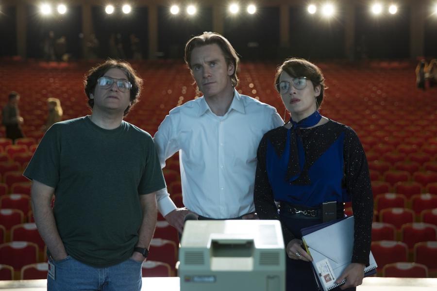 "Seth Rogen, Michael Fassbender i Kate Winslet w filmie ""Steve Jobs"""