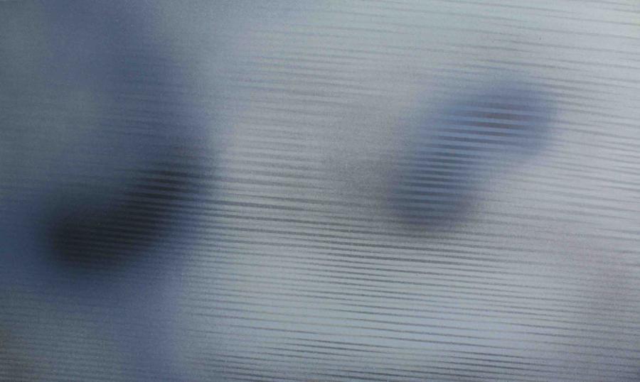 Interferencje XV, akryl na płótnie, 150x90 cm