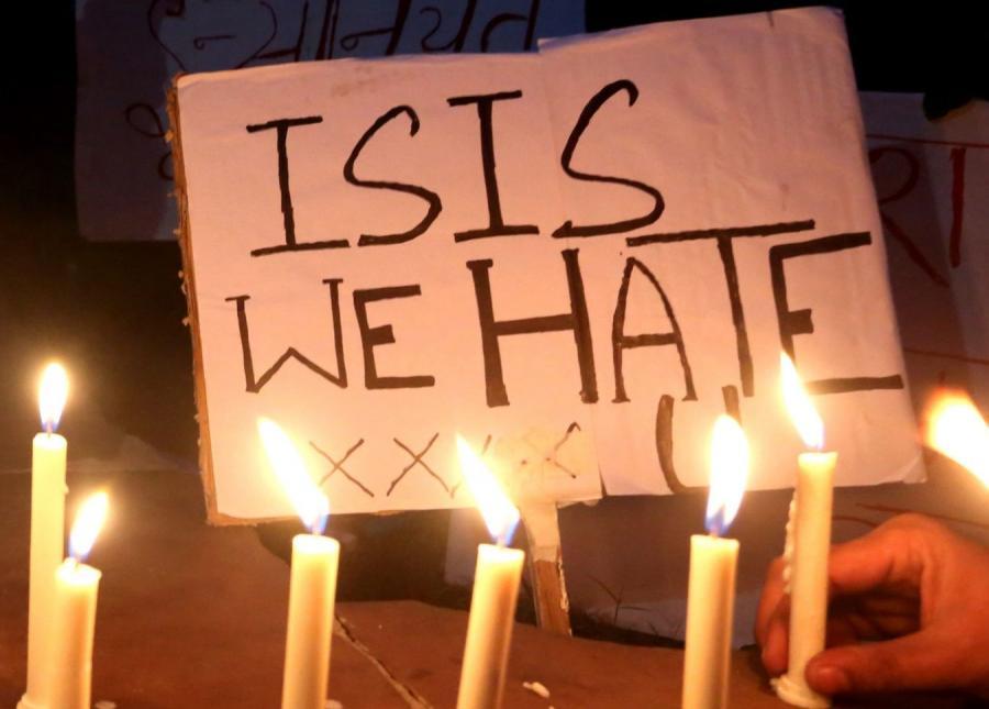 Protest muzułmanów przeciwko Państwu Islamskiemu