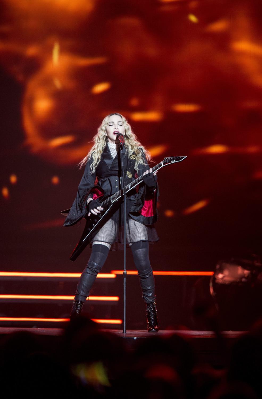 Madonna w Sztokholmie uczciła pamięć ofiar zamachów