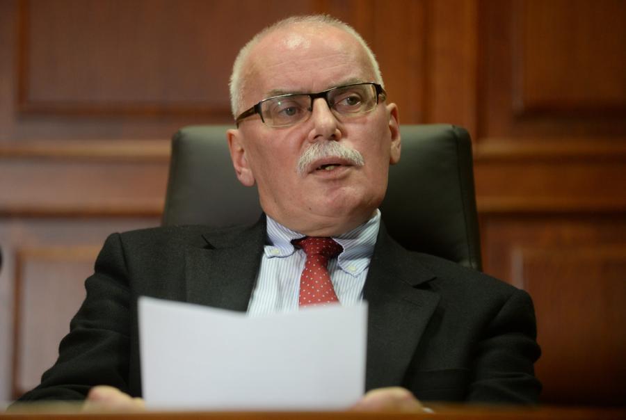 Sędzia warszawskiego sądu okręgowego Wojciech Małek