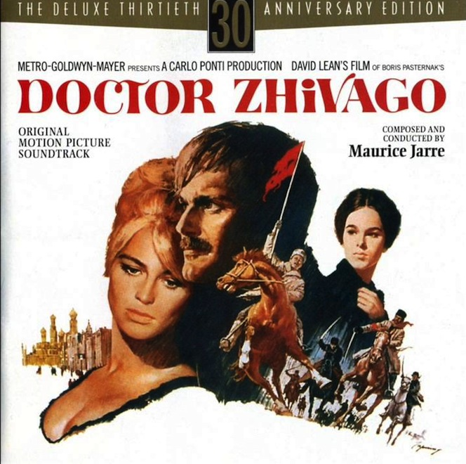 "8. ""Doctor Zhivago"" – Soundtrack"