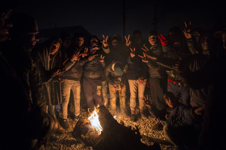 Uchodźcy w Macedonii