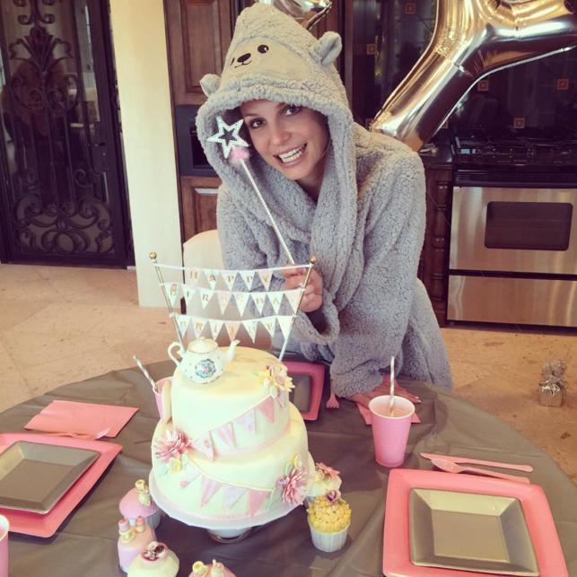 Słodkie urodziny Britney Spears