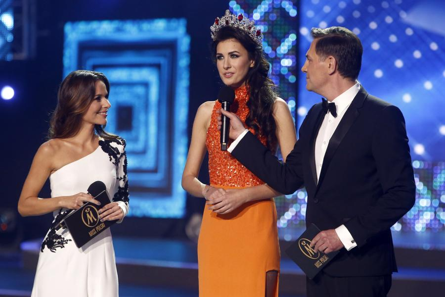 Paulina Sykut, Ewa Mielnicka i Krzysztof Ibisz