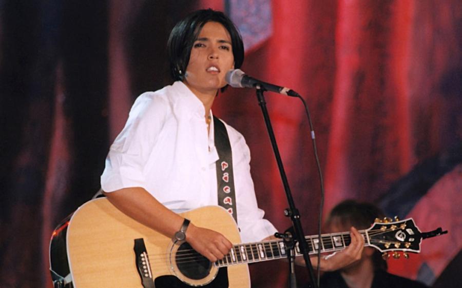 Tanita Tikaram na festiwalu w Sopocie w 1998 roku