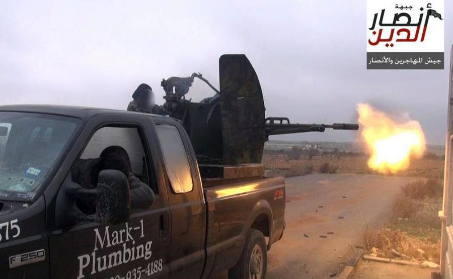 Samochód amerykańskiego hydraulika służy dżihadystom w Syrii