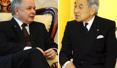 Cesarz Akihito nie przyjmie Lecha Kaczyńskiego