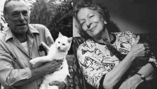 Charles Bukowski i Wisława Szymborska