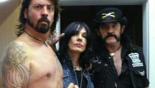 Dave Grohl i Lemmy Kilmister