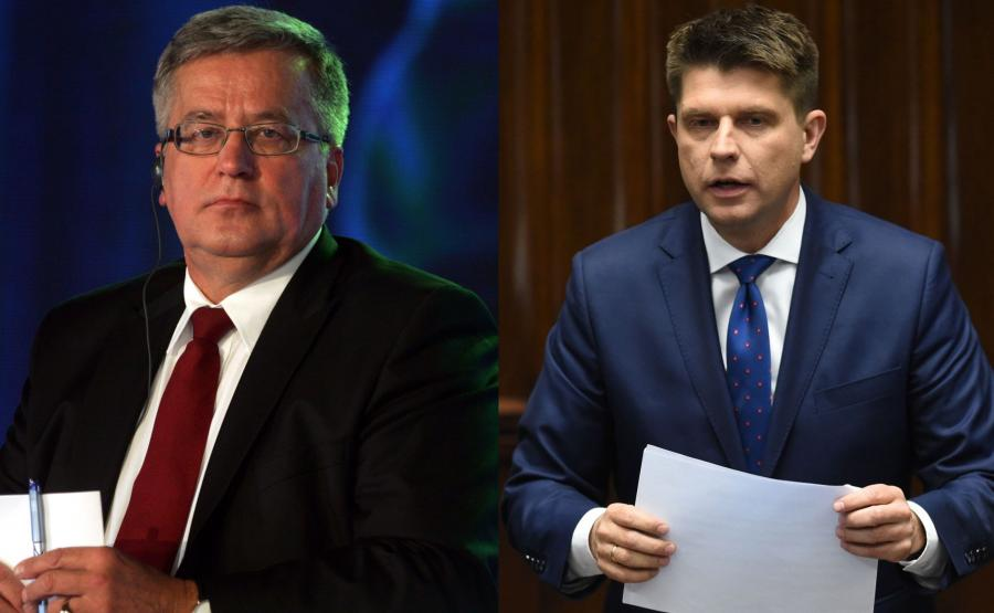 Bronisław Komorowski i Ryszard Petru