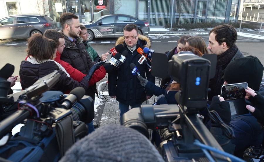 Rzecznik Prokuratury Apelacyjnej w Krakowie Piotr Kosmaty