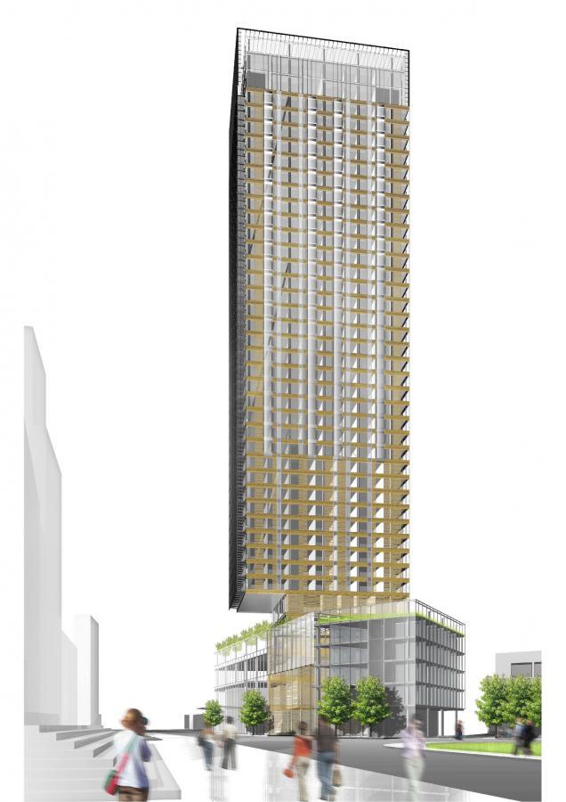 Wstępne plany firmy zakładają rozpoczęcie wznoszenia wieży w pierwszej połowie przyszłego roku