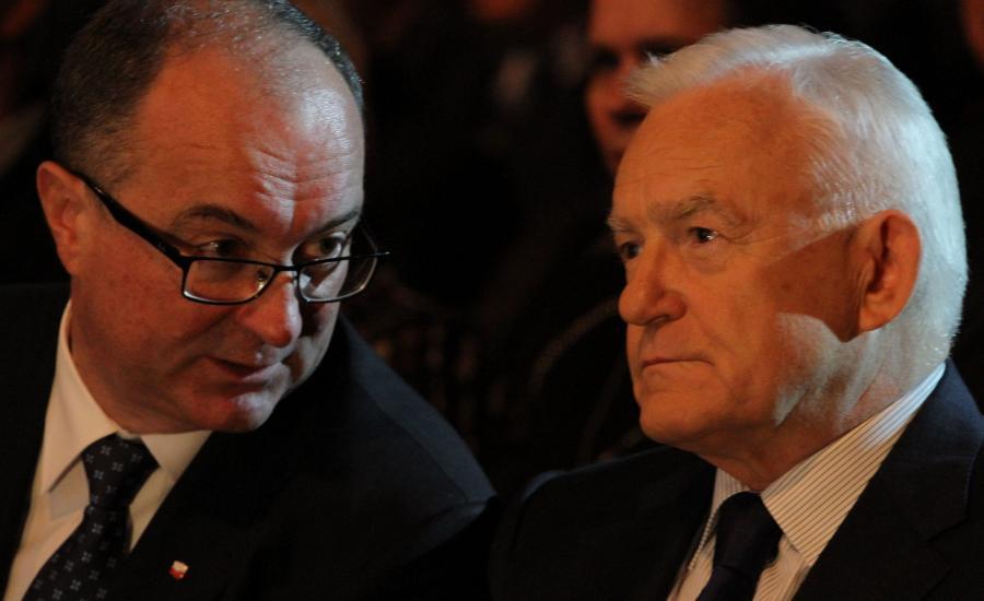 Włodzimierz Czarzasty i Leszek Miller