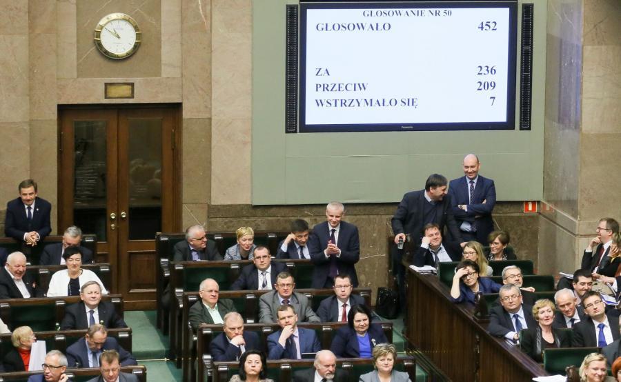 Sejm, głosowanie ws. ustawy o prokuraturze