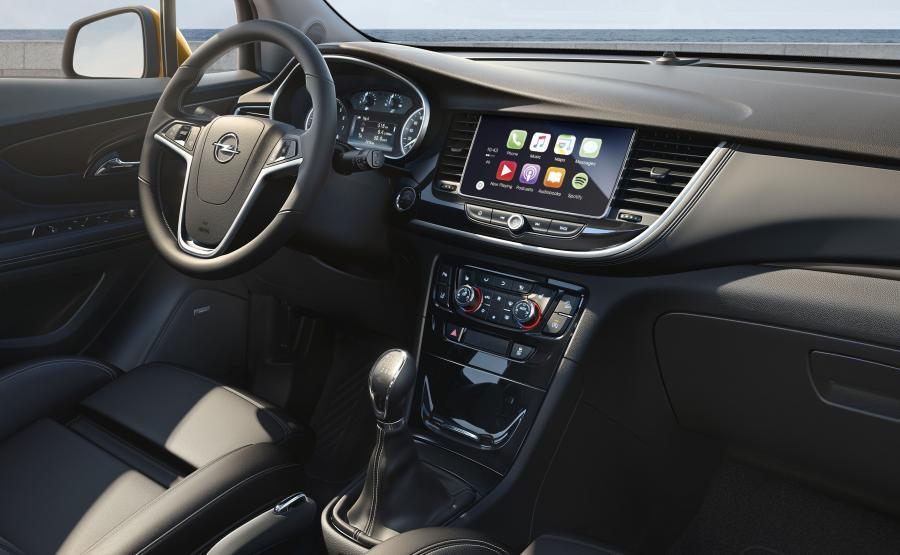 Nowy opel mokka x ju w produkcji foto auto i for Opel mokka x interieur