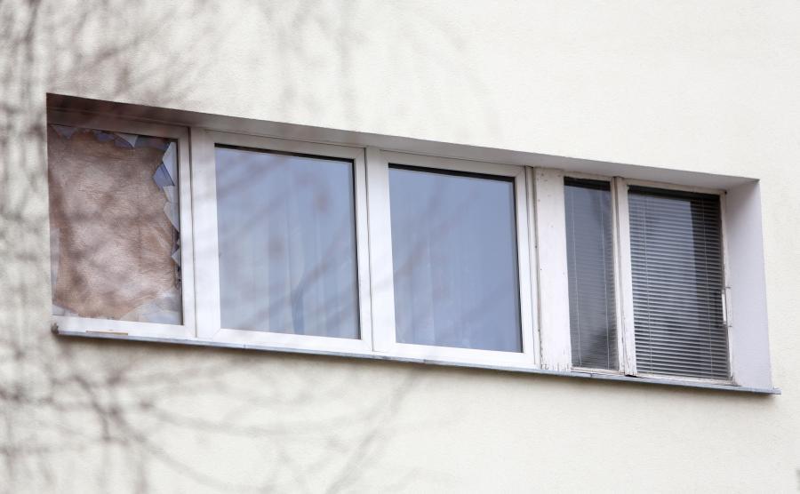 Budynek przy ul. Potockiej 60 w Warszawie, gdzie znaleziono zwłoki zamordowanej kobiety