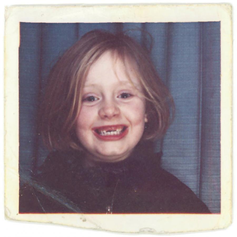 Bezzębna Adele na okładce