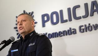 Komendant główny policji Zbigniew Maj