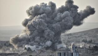Ostrzał miasta w Syrii