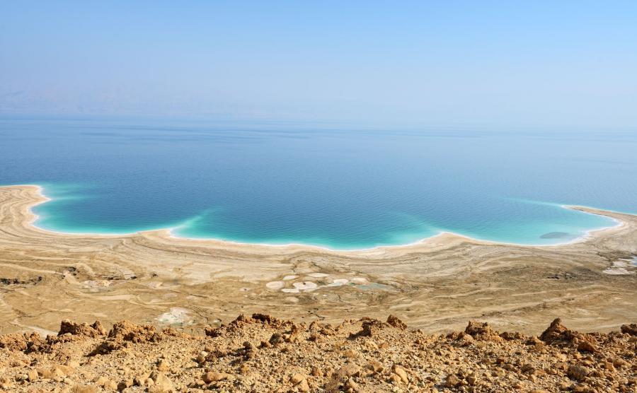 Umierające Morze Martwe