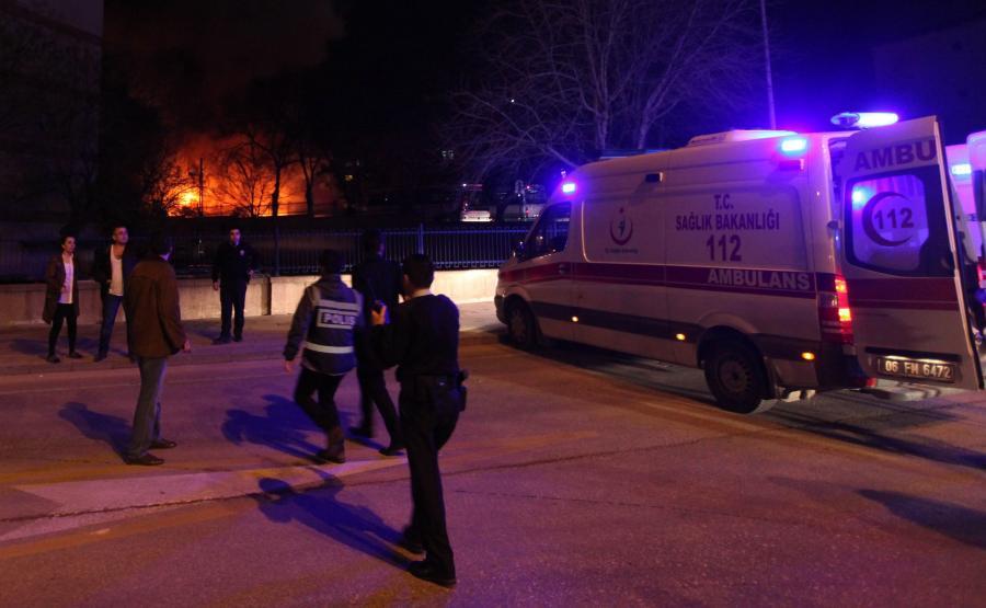Eksplozja w Ankarze. Zamach w centrum miasta