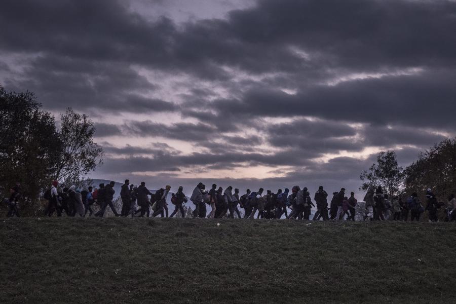 Uchodźcy na Słowenii