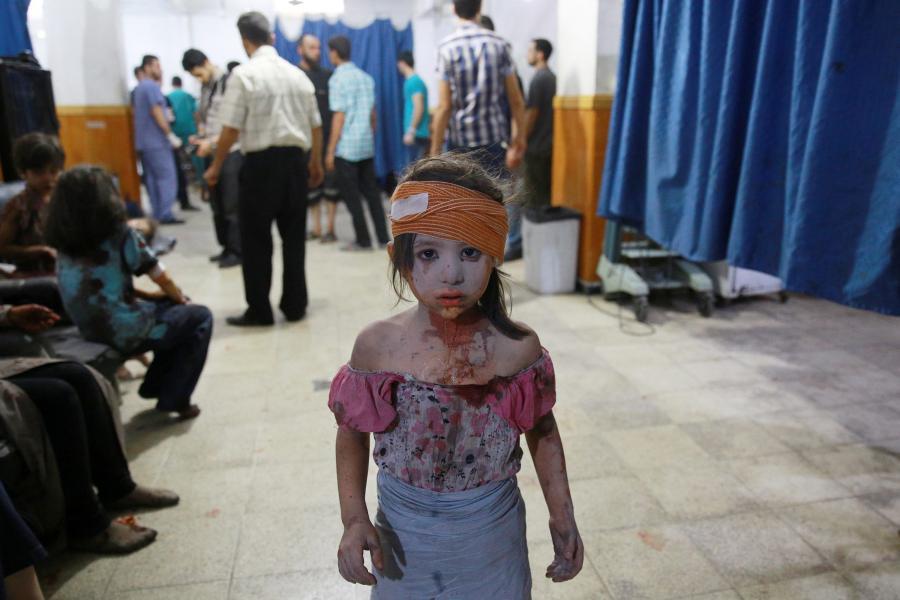 Ranne syryjskie dziecko