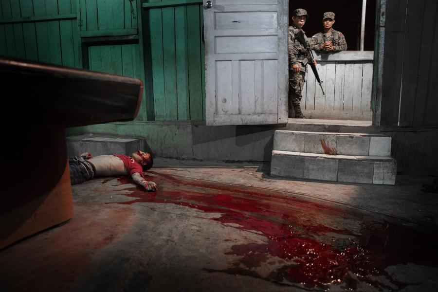 Mężczyzna zabity podczas honduraskiej wojny gangów