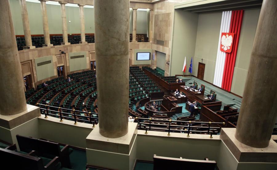 Sala posiedzień Sejmu
