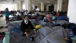 Uchodźcy w Atenach