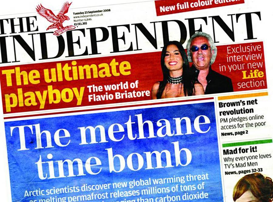 Wielkiej brytyjskiej gazecie grozi plajta