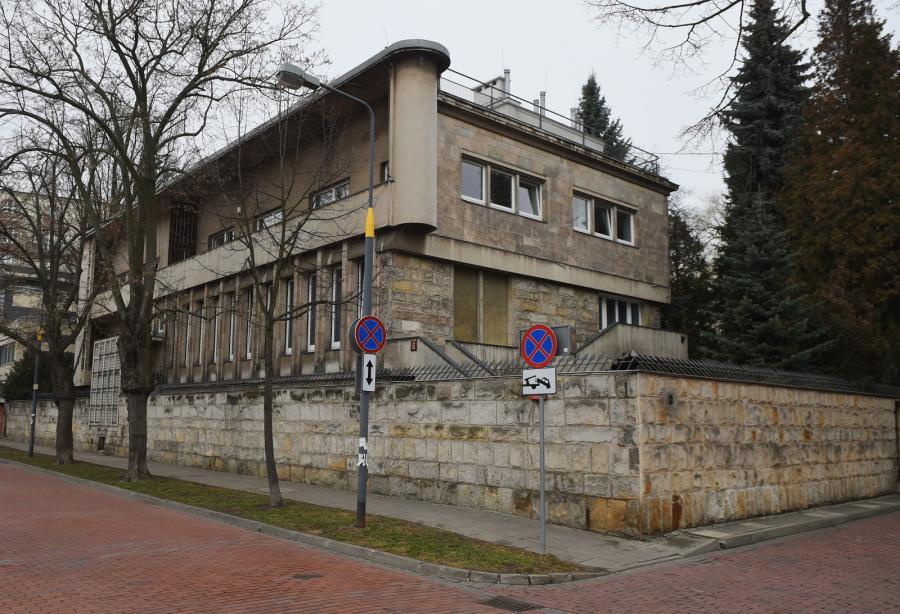 Willa przy ulicy Klonowej 6 w Warszawie, gdzie odbyło się posiedzenie podkomisji smoleńskiej