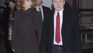Renata Koźlicka-Glińska i Piotr Gliński