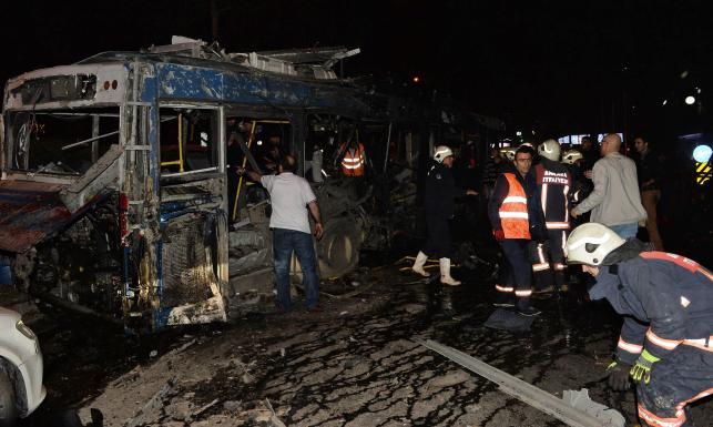 Wybuch bomby w centrum Ankary. Jest wielu zabitych i rannych. WIDEO z ataku