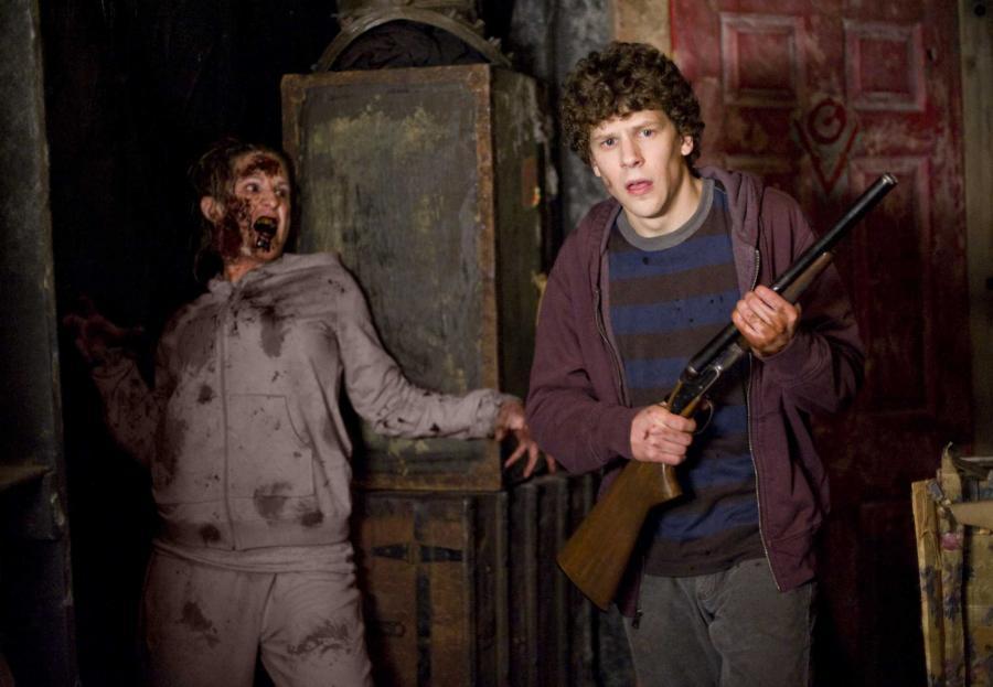 """Jesse Eisenberg w filmie """"Zombieland"""""""