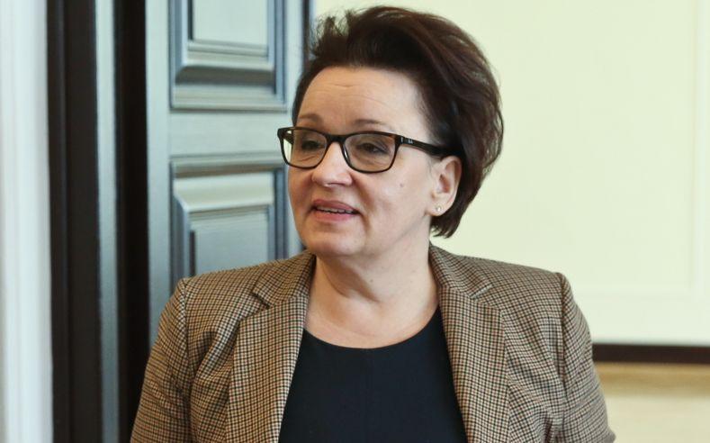 Minister edukacji Anna Zalewska