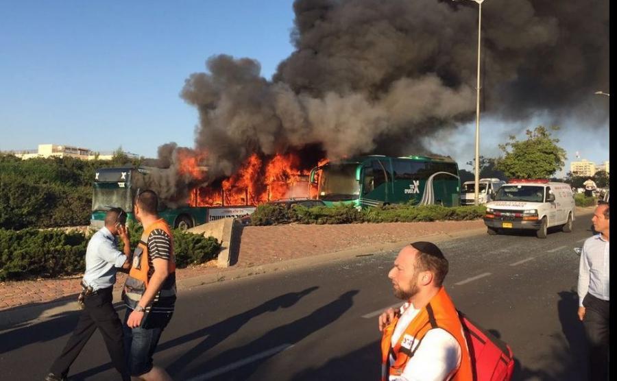 Wybuch autobusu w Jerozolimie