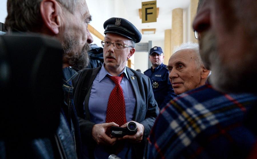 Przewodniczący KPN-Niezłomni Adam Słomka