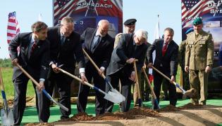 Wmurowania kamienia węgielnego pod budowę instalacji obrony przeciwrakietowej w Redzikowie