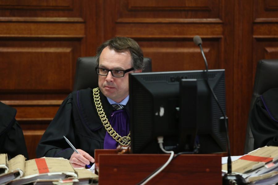 Sędzia przewodniczący Paweł du Chateau