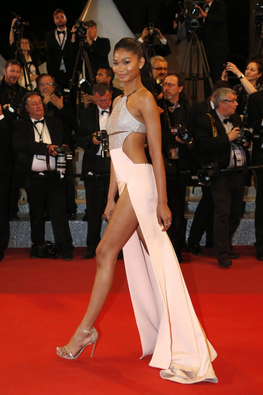 "Modelka Chanel Iman na premierze ""Hands of Stone"""