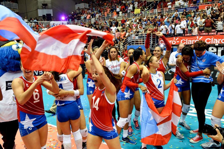 Piękne siatkarki z Portoryko po raz pierwszy zagrają na igrzyskach