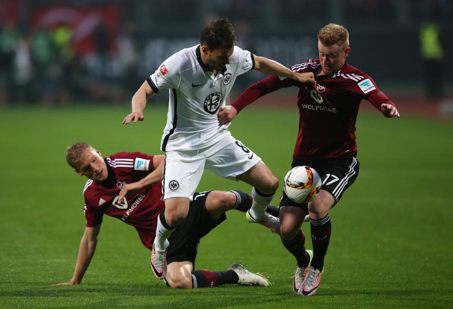 1. FC Nuremberg - Eintracht Frankfurt