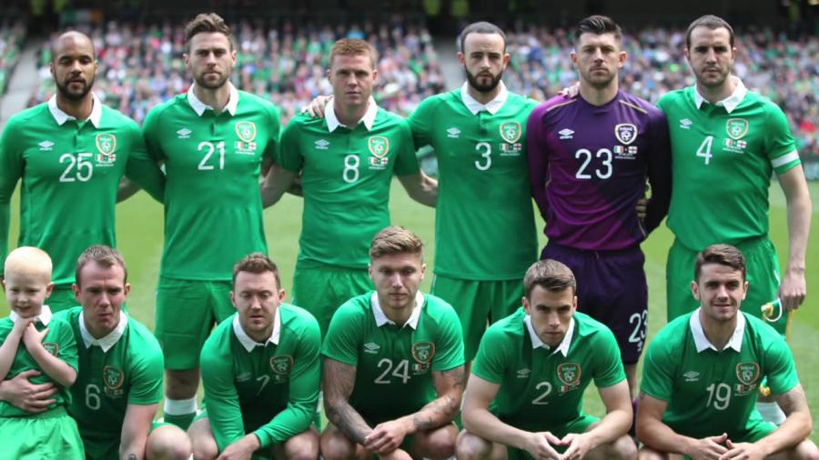 Piłkarze Irlandii