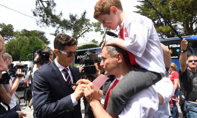 Euro 2016: Tak Francja powitała piłkarską reprezentację Polski
